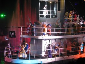 Final Scene in Fantasmic!